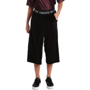 textil Dame Halvlange bukser Converse 10006187 Sort