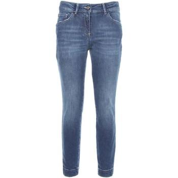 textil Dame Smalle jeans Nero Giardini A760110D Blå