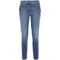 textil Dame Smalle jeans Nero Giardini A760120D Blå