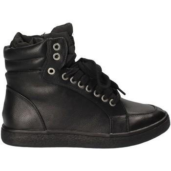 Sko Dame Høje sneakers Fornarina PI18WI1129P000 Sort