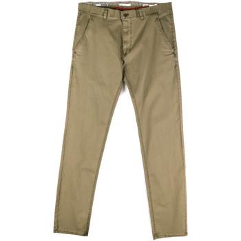 textil Herre Chinos / Gulerodsbukser Gaudi 811FU25033 Grøn