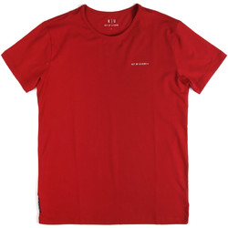 textil Herre T-shirts m. korte ærmer Key Up 2G69S 0001 Rød