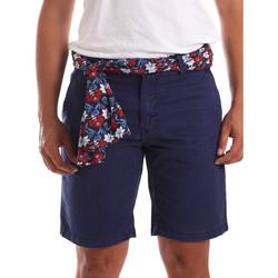 textil Herre Shorts Gaudi 911BU25032 Blå