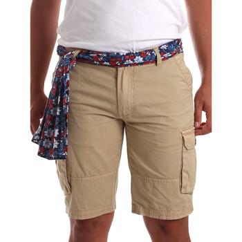 textil Herre Shorts Gaudi 911BU25034 Beige