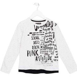 textil Børn Langærmede T-shirts Losan 723 1005AA hvid