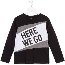 textil Børn Langærmede T-shirts Losan 723 1020AA Sort