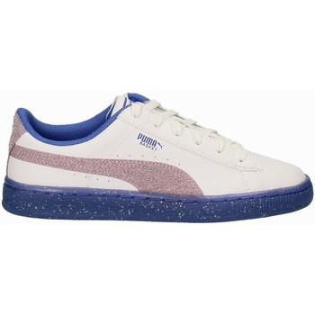Sko Børn Lave sneakers Puma 363896 hvid