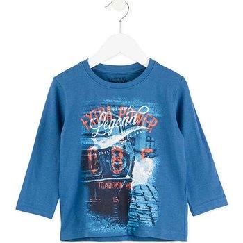 textil Børn Langærmede T-shirts Losan 725 1203AC Blå