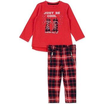 textil Pige Sæt Losan 726 8013AD Rød