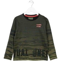 textil Børn Langærmede T-shirts Losan 723 1013AA Grøn