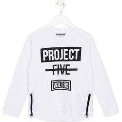 textil Børn Langærmede T-shirts Losan 723 1010AA hvid