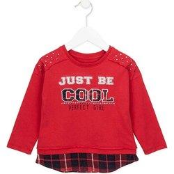 textil Pige Sweatshirts Losan 726 1026AD Rød