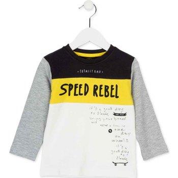textil Børn Langærmede T-shirts Losan 725 1018AC hvid