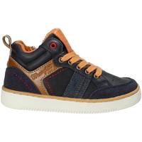 Sko Børn Høje sneakers Wrangler WJ17227 Blå