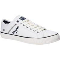 Sko Herre Lave sneakers Wrangler WM181030 hvid