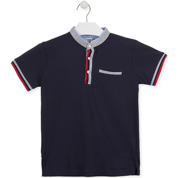 textil Børn Polo-t-shirts m. korte ærmer Losan 015-1791AL Blå