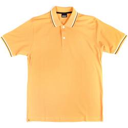 textil Herre Polo-t-shirts m. korte ærmer Key Up 2Q70G 0001 Gul