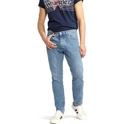 textil Herre Lige jeans Wrangler W18RER Blå