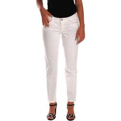 textil Dame Smalle jeans Gas 355661 hvid