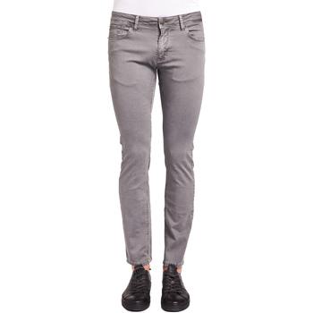 textil Herre Smalle jeans Gaudi 921BU25001 Grå