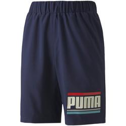 textil Børn Shorts Puma 584184 Blå