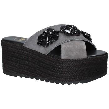 Sko Dame Tøfler Exé Shoes G4700885736T Sort