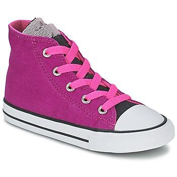 Sko Pige Høje sneakers Converse ALL STAR PARTY HI Pink