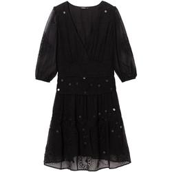 textil Dame Korte kjoler Desigual 19WWVW32 Sort