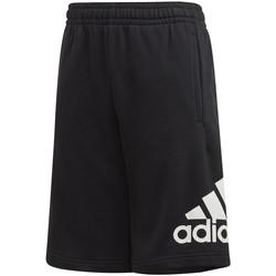 textil Børn Shorts adidas Originals FM6456 Sort