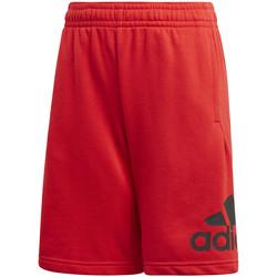 textil Børn Shorts adidas Originals FM6457 Rød