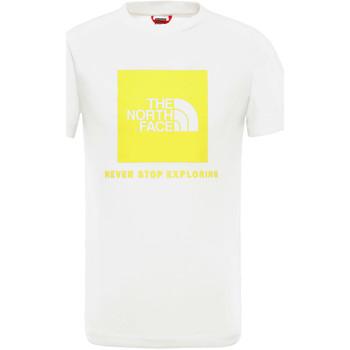 textil Børn T-shirts m. korte ærmer The North Face NF0A3BS2P801 hvid