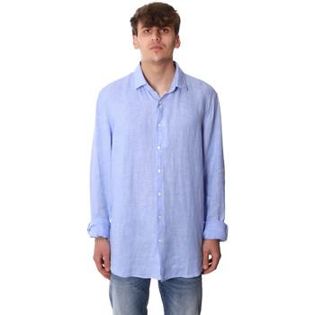 textil Herre Skjorter m. lange ærmer Calvin Klein Jeans K10K106018 Blå