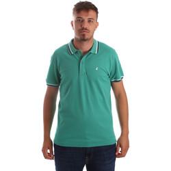 textil Herre Polo-t-shirts m. korte ærmer Navigare NV82077 Grøn