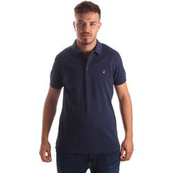 textil Herre Polo-t-shirts m. korte ærmer Navigare NV82097 Blå