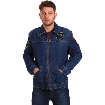 textil Herre Cowboyjakker Wrangler W4580512L Blå