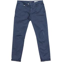 textil Herre Chinos / Gulerodsbukser Antony Morato MMTR00387 FA800060 Blå