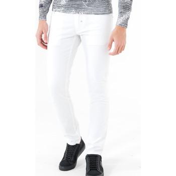 textil Herre Lærredsbukser Antony Morato MMTR00372 FA800060 hvid