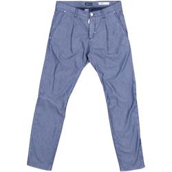 textil Herre Chinos / Gulerodsbukser Antony Morato MMTR00378 FA850155 Blå