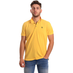 textil Herre Polo-t-shirts m. korte ærmer Gaudi 811BU64074 Gul