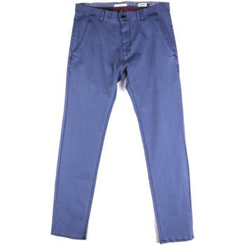 textil Herre Chinos / Gulerodsbukser Gaudi 811FU25033 Blå