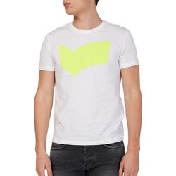textil Herre T-shirts m. korte ærmer Gas 542973 hvid