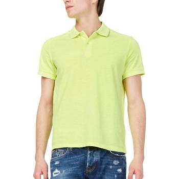 textil Herre Polo-t-shirts m. korte ærmer Gas 310174 Gul