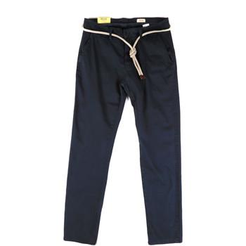 textil Herre Chinos / Gulerodsbukser Impure ALEX-215 Blå