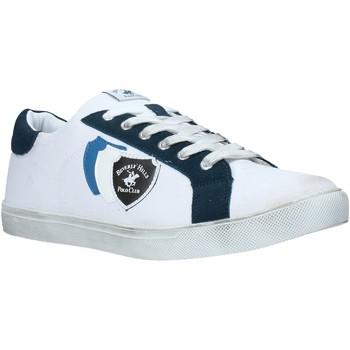 Sko Herre Lave sneakers Beverly Hills Polo Club BH-3011 hvid