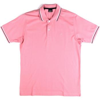 textil Herre Polo-t-shirts m. korte ærmer Key Up 2Q70G 0001 Lyserød