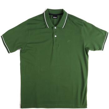 textil Herre Polo-t-shirts m. korte ærmer Key Up 2Q70G 0001 Grøn