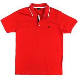 textil Herre Polo-t-shirts m. korte ærmer Key Up 2Q711 0001 Rød