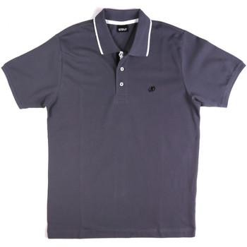 textil Herre Polo-t-shirts m. korte ærmer Key Up 2Q711 0001 Blå