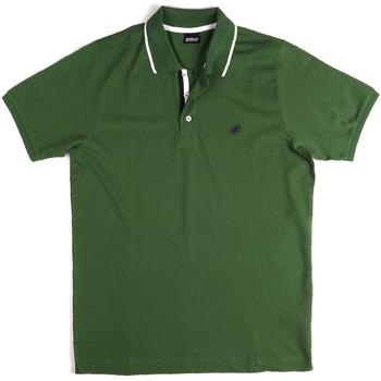 textil Herre Polo-t-shirts m. korte ærmer Key Up 2Q711 0001 Grøn