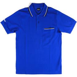 textil Herre Polo-t-shirts m. korte ærmer Key Up 2Q827 0001 Blå